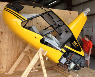 helicopter crating